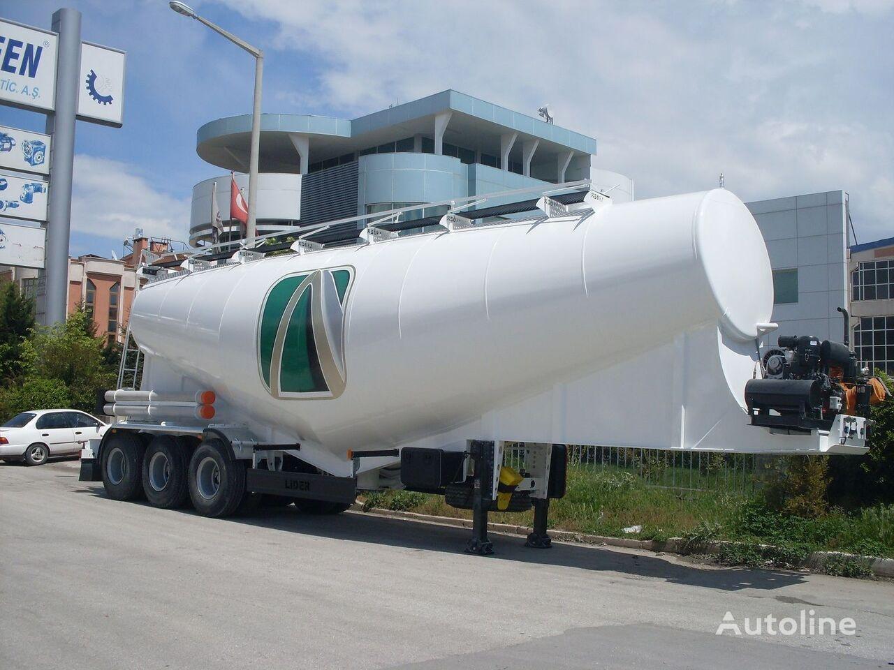 novi LIDER بلكر اسمنت مواصفات اوربية 2019 kamion za prijevoz cementa