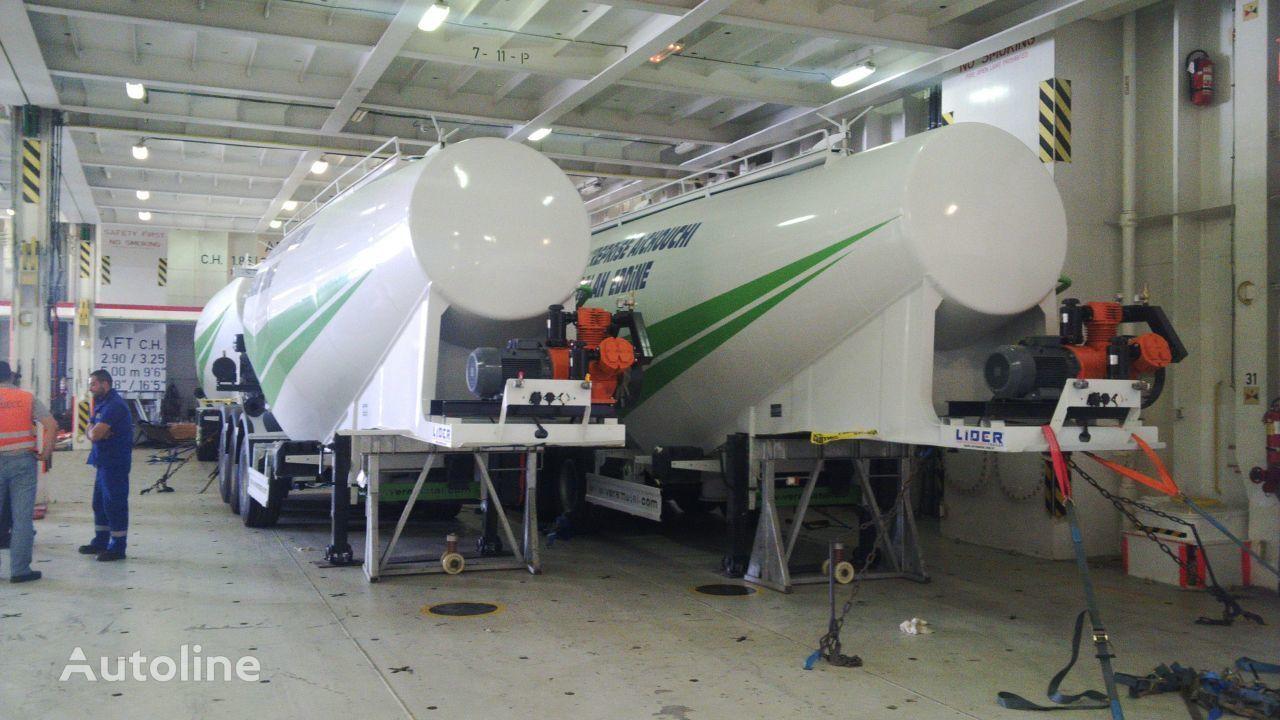 novi LIDER 2020 MODELS YEAR NEW (MANUFACTURER COMPANY LIDER TRAILER & TANKE kamion za prijevoz cementa