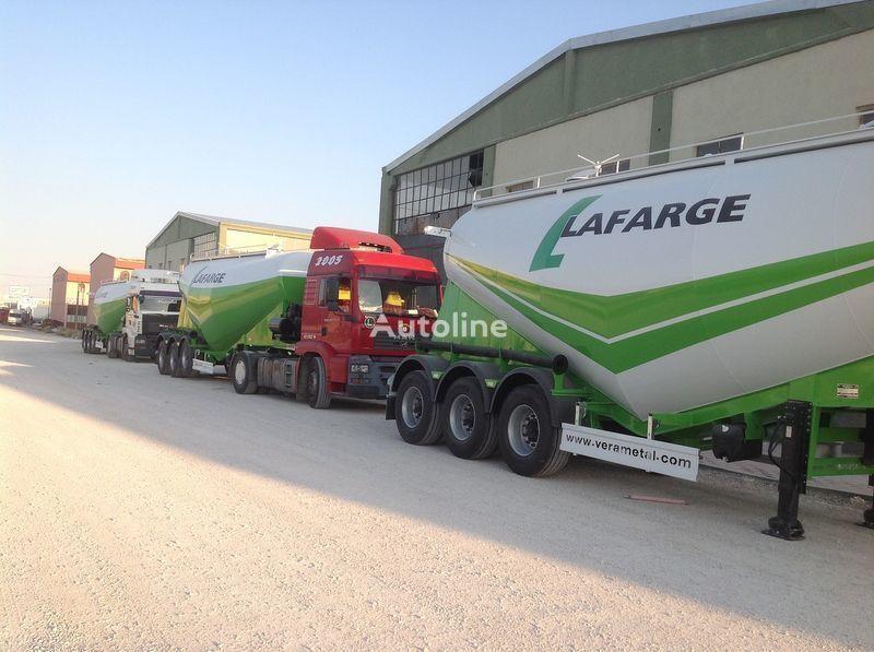 novi LIDER NEW 2019 YEAR LIDER TRAILER kamion za prijevoz cementa