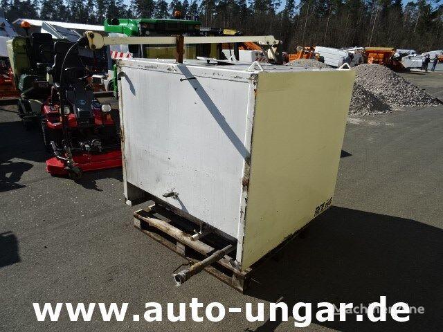 MULTICAR Wassertank Edelstahl 1500 Liter mit Schlauchabroller Tank cisterna za pranje ulica