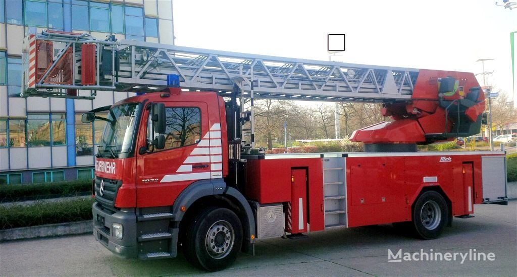 MERCEDES-BENZ F20127 - Metz L39 - Fire truck - turntable ladder  vatrogasne ljestve