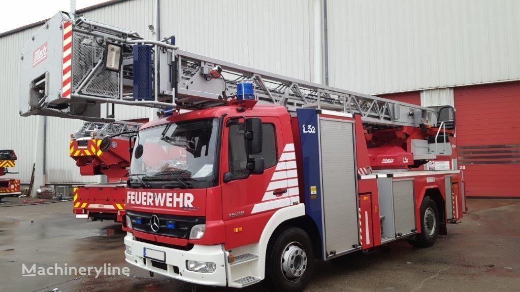 MERCEDES-BENZ F20136 Metz DLK 23-12 CAN-I L32 - Fire truck - Turntable ladder vatrogasne ljestve