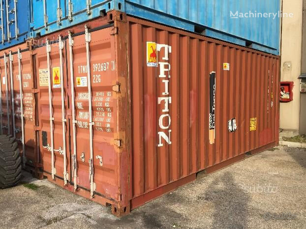 CONTAINER 20 piedi per Trasporto e Deposito USATO kontejner 20 stopa