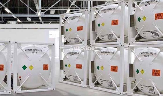 novi spremnik-kontejner 20 stopa
