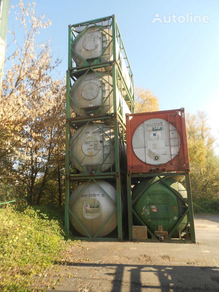 BSL ISO TANK CONTAINER 20 PIEDI L2,5BN Monoscomparto spremnik-kontejner 20 stopa