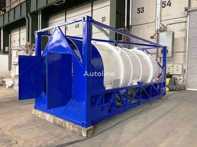 GAS, Cryogenic tank,  Oxygen, Argon, Nitrogen, LIN, LAR, LOX, IM spremnik-kontejner 20 stopa