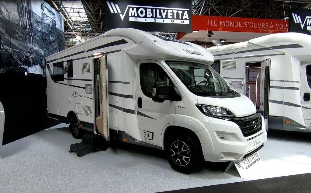 nova FIAT Mobilvetta K-SILVER 59,Premium Luxury SemiIntegrate Model 2020,P kuća na kotačima