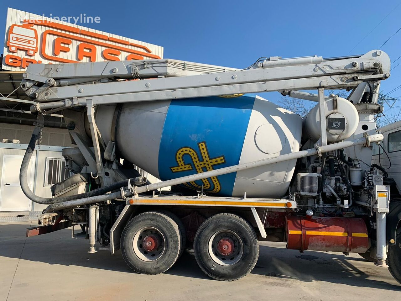 CIFA 24 METRI korpa za miješanje betona