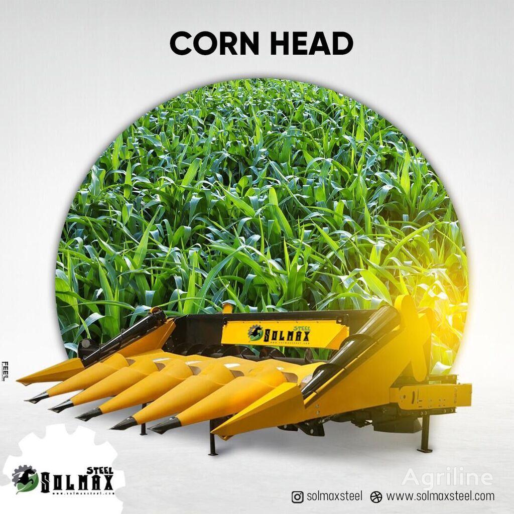 novi SOLMAX STEEL CORN HEADER adapter za kukuruz