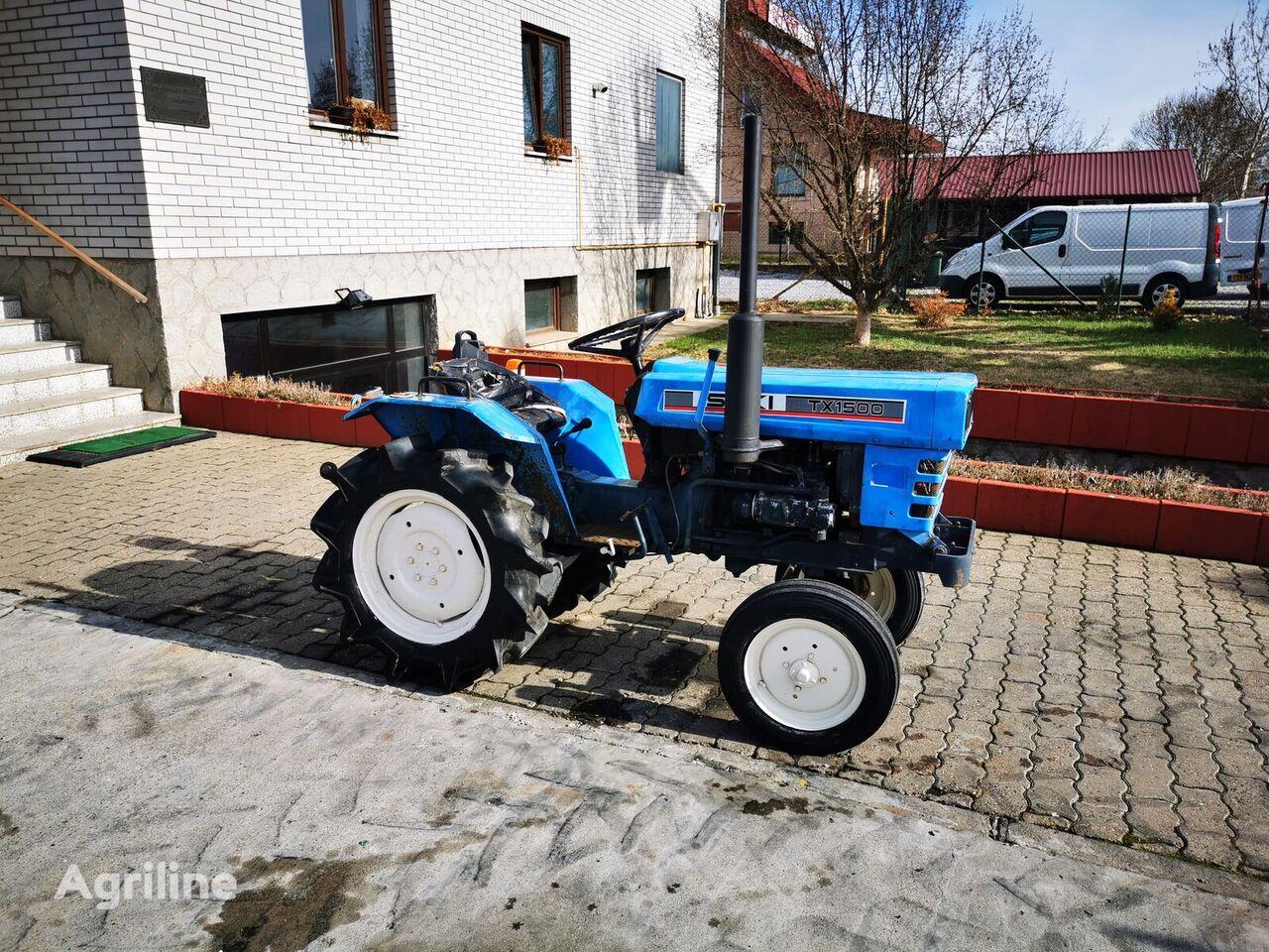 ISEKI TX 1500 mini traktor