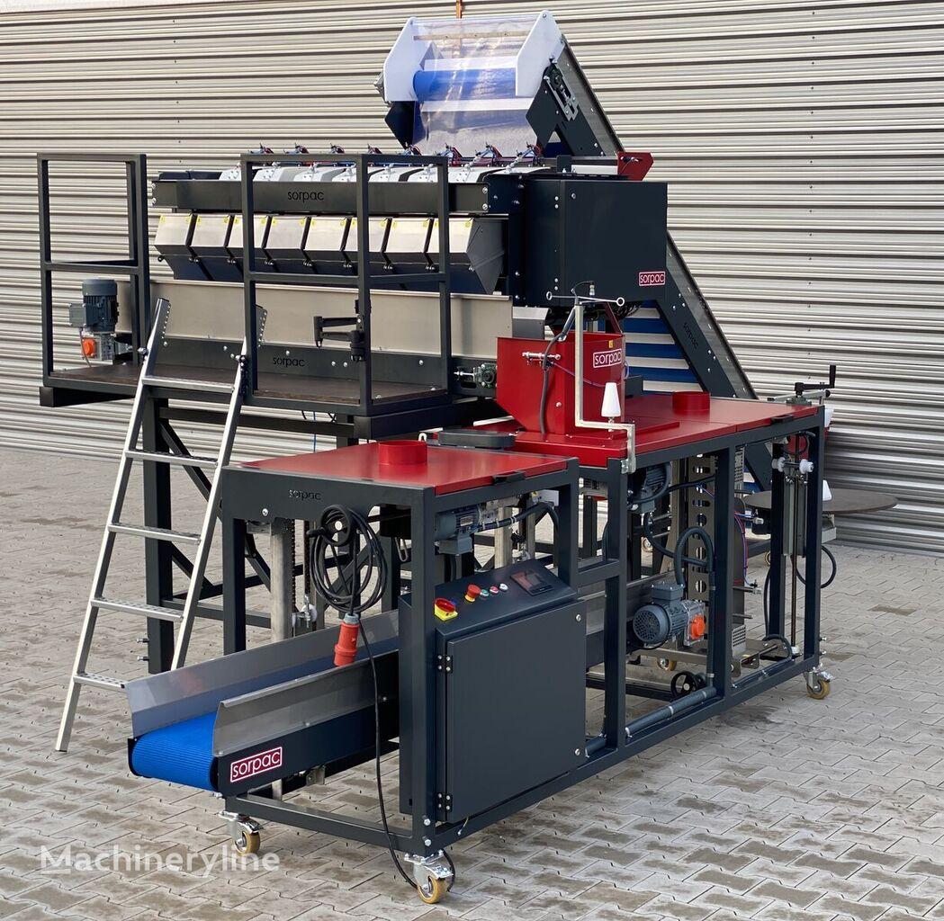 nova SORPAC linia ważąco - pakująca (MW813 + RN01 + taśmociąg) stroj za pakiranje