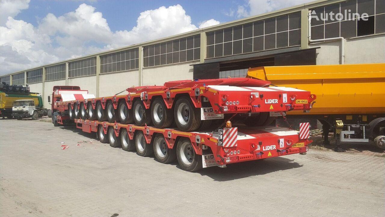 nova LIDER 2021 model 150 Tons caapcity Lowbed semi trailer  poluprikolica sa niskom platformom