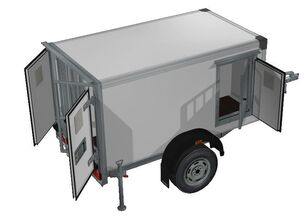 nova ИСТОК 3791M1 furgon prikolica