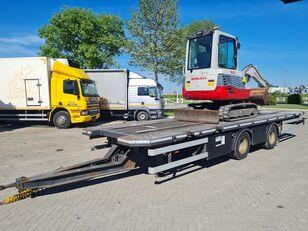DRACO gradj. masine / cont. 20 inch / NL brif prikolica za građevinske strojeve