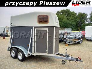 Blomert PU-012 używana przyczepa do przewozu 2 koni 310x165x230cm, BLOME prikolica za prijevoz konja