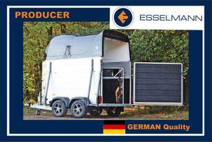 nova Esselmann Cavallo Due przyczepa do przewozu 2 koni prikolica za prijevoz stoke