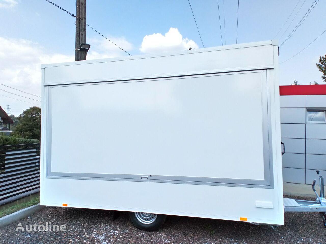 nova BANNERT W MAGAZYNIE 3 szt.  3,7 m Food Truck, Imbiss, Handlowa, Piekarni prodajna prikolica
