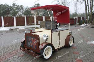nova BMgrupa stand w stylu retro, stoisko gastronomiczne, catering trailers prodajna prikolica