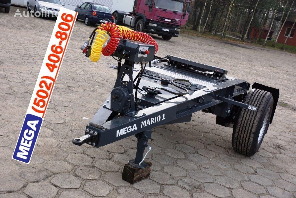 nova MEGA 1 Achse Dolly fur Kipper / Hydraulik Pumpe / FERTIG  teretna kolica