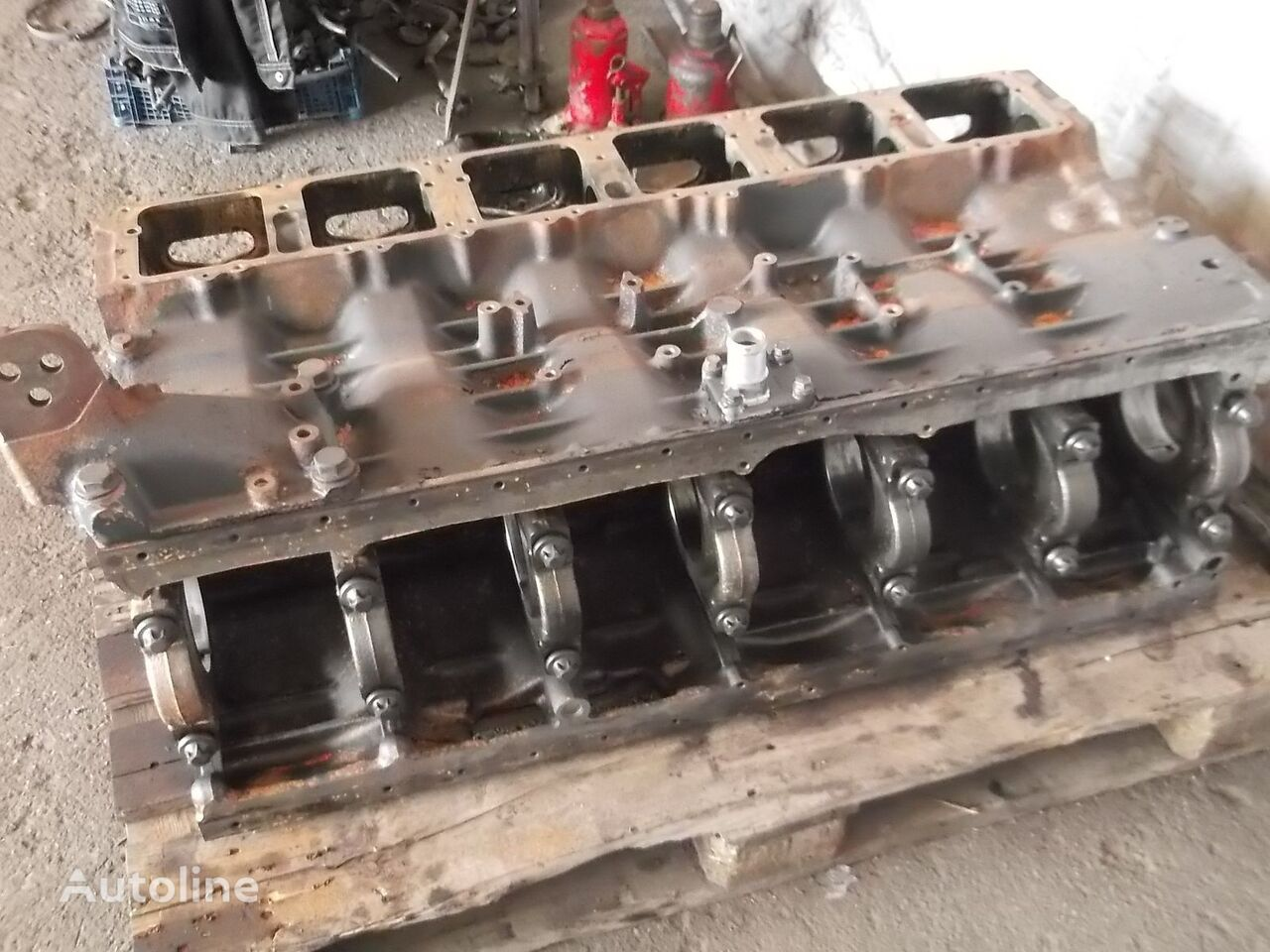 SCANIA T, P, G, R, L series EURO 3, EURO 4 HPI injection system, cylind blok cilindara za SCANIA R, P, G, L series tegljača