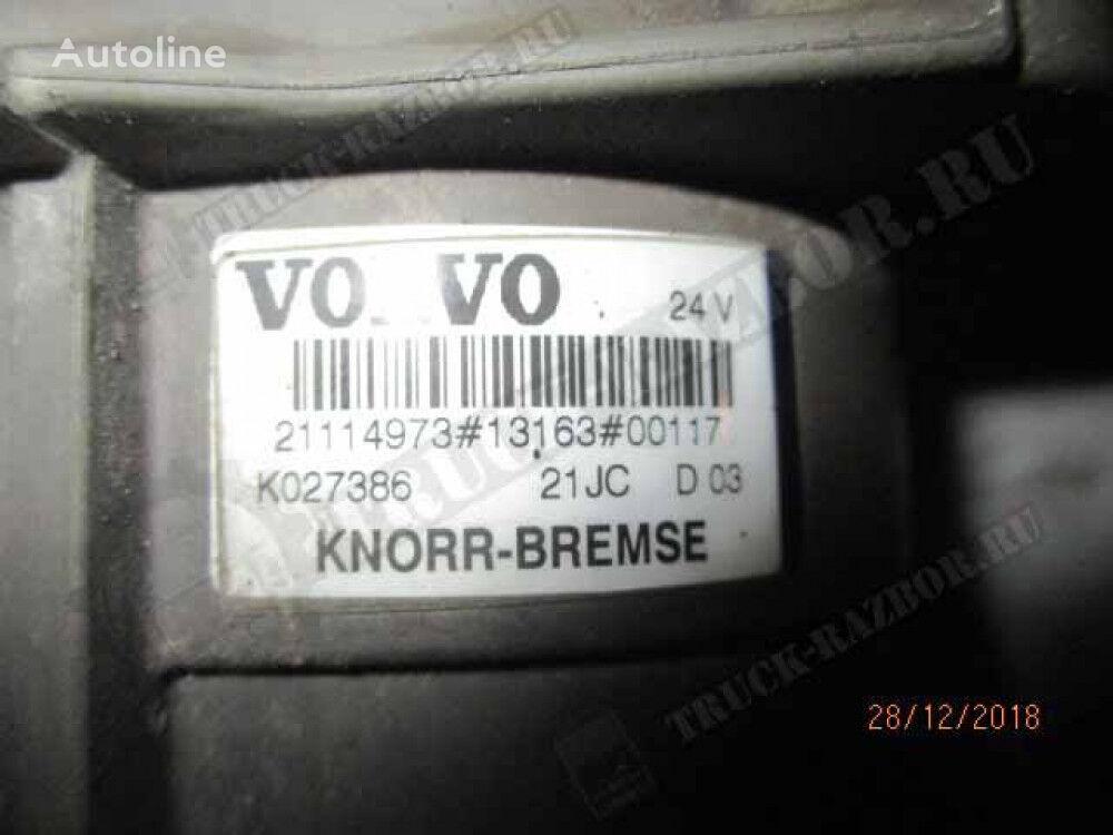 KNORR-BREMSE kran glavnyy tormoznoy drugi rezervni dio kočionog sustava za VOLVO tegljača
