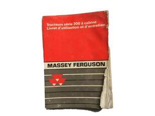 upute za uporabu za MASSEY FERGUSON 300 traktora