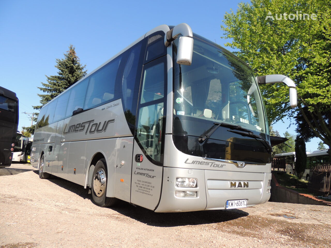MAN LIONS COACH  turistički autobus